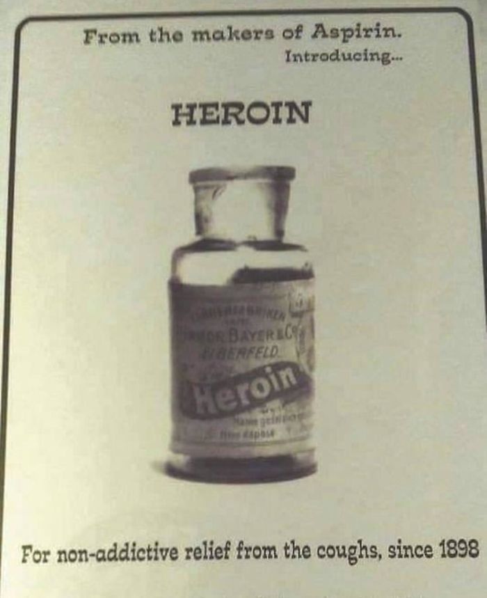 past posts heroin non-addictive