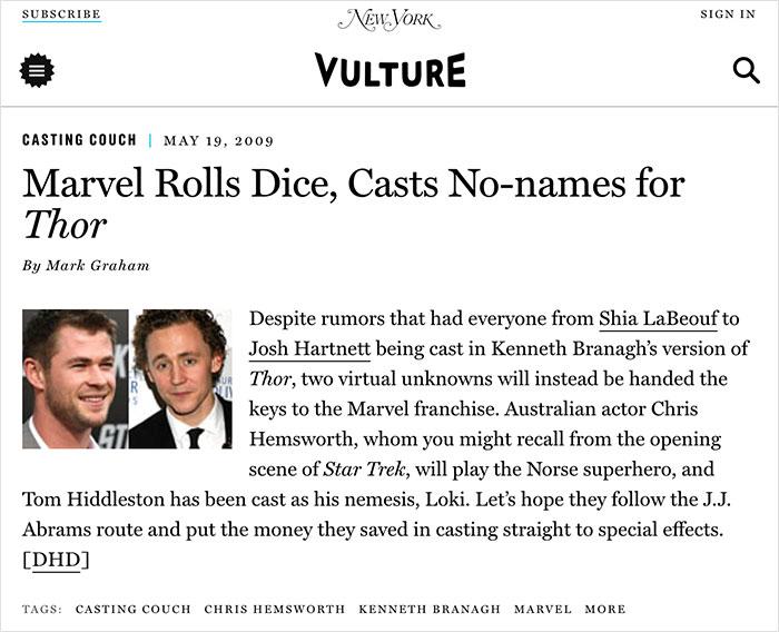 past posts thor cast no-names