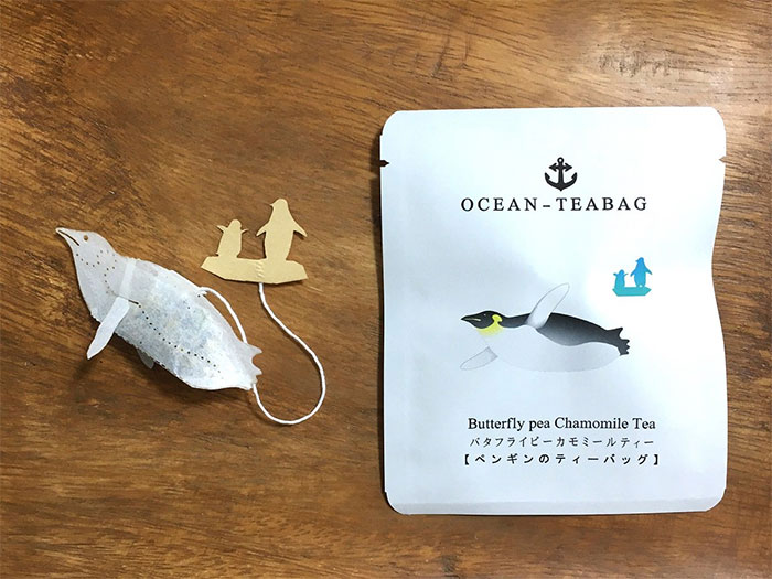 penguin ocean teabags japan