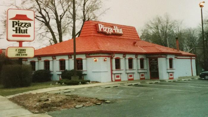 pizza hut old logo