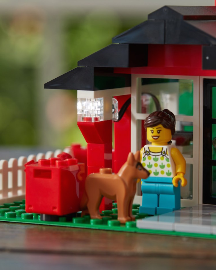 plant-based LEGO kit