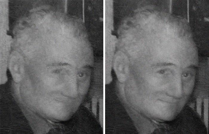 restored gentleman photoshop photo restoration michelle spalding
