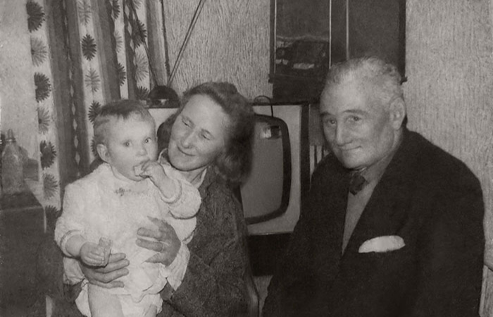 restored grandparents photoshop photo restoration michelle spalding