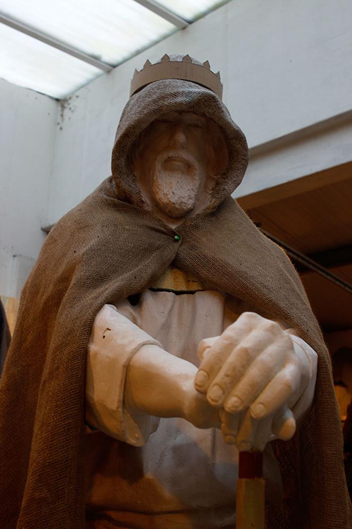 rubin eynon casting king arthur sculpture