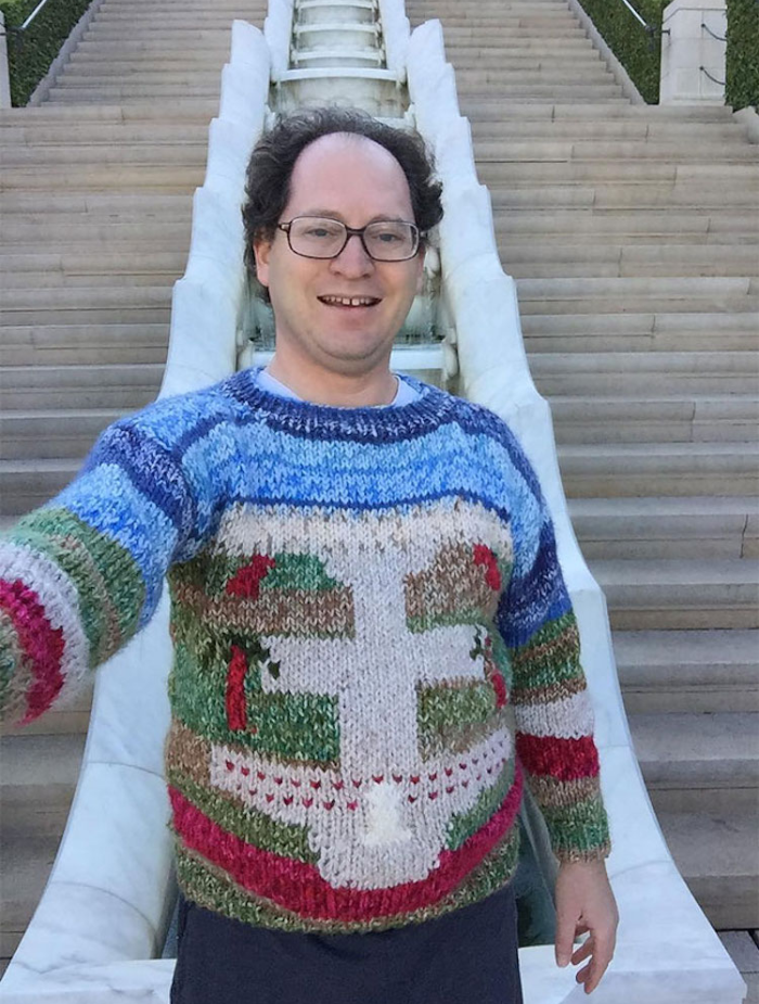 sam barsky postcard sweaters thousand stairs