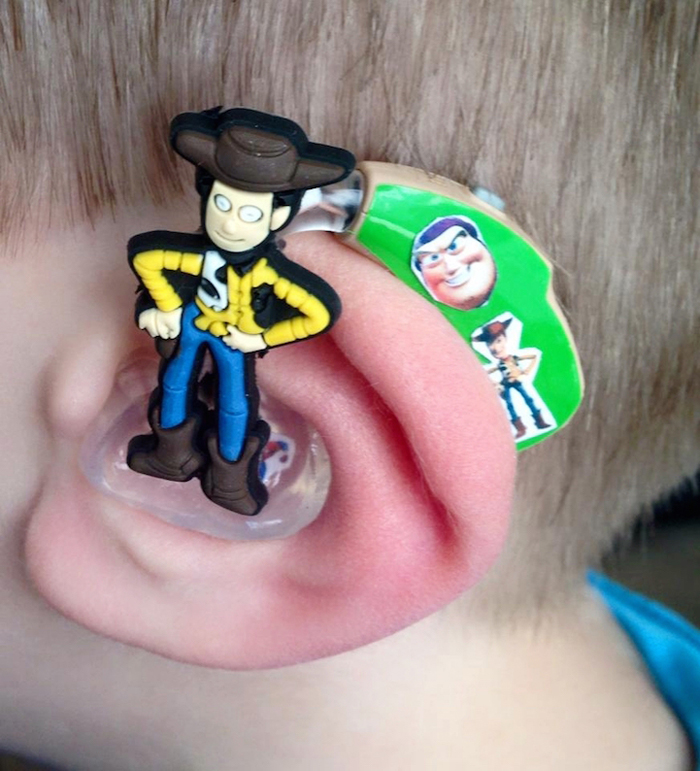 sarah ivermee toy story woody hearing aids
