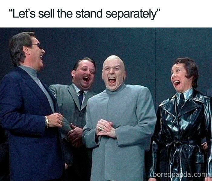 sell stand separately apple mac pro memes