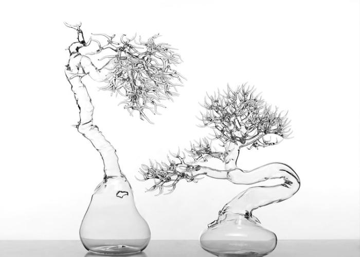 simone crestani blown glass sculptures natural world