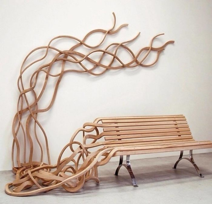 spaghetti bench unique furniture designs