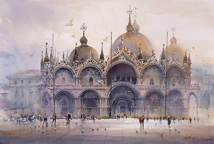 spectacular watercolor paintings kwan yeuk pang