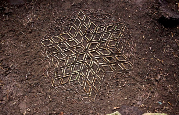 sticks in james brunt mesmerizing mandalas