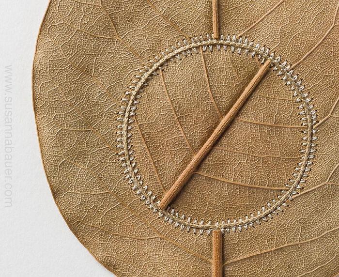 susanna bauer dried leaves crochet art navigation