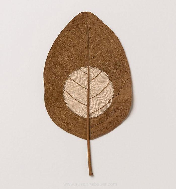 susanna bauer dried leaves crochet moon xxx