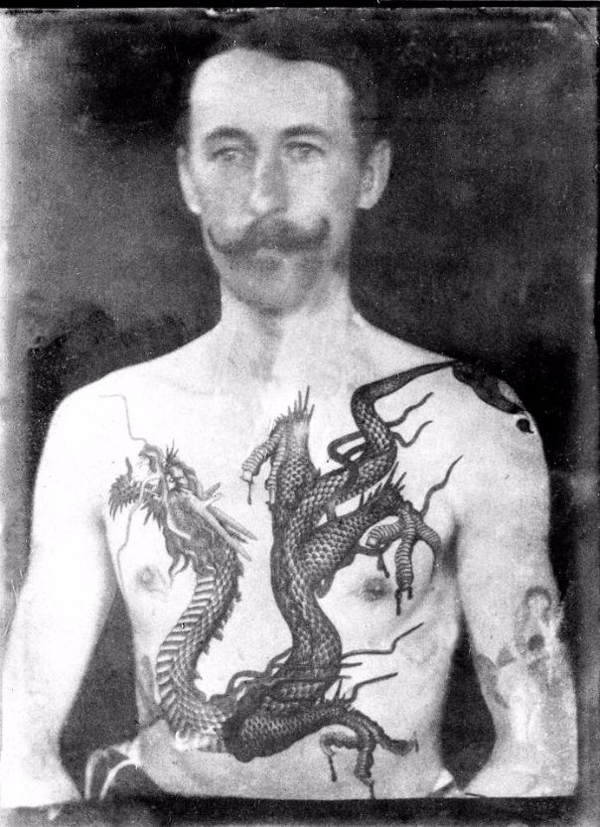 sutherland macdonald history tattoos dragon