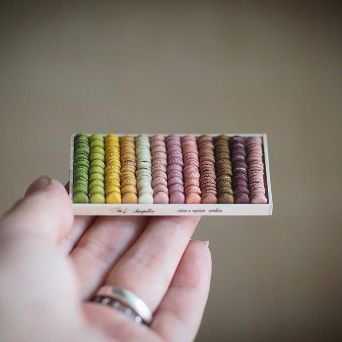 sweets handmade miniatures kiyomi chiisana shiawase
