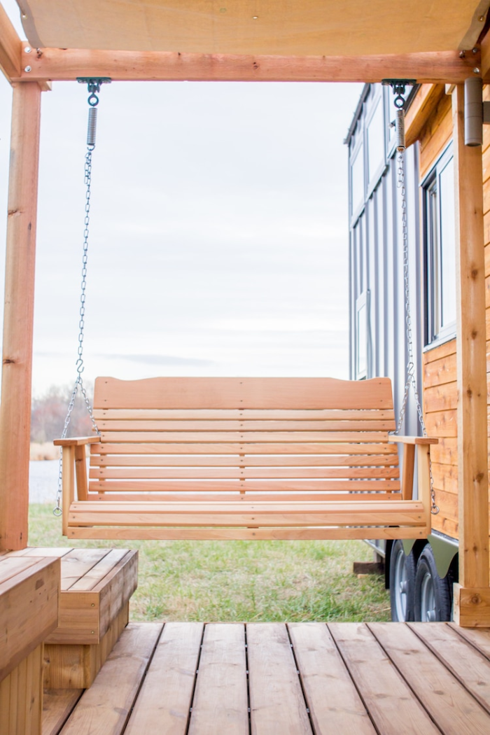 swing in olive nest tiny homes