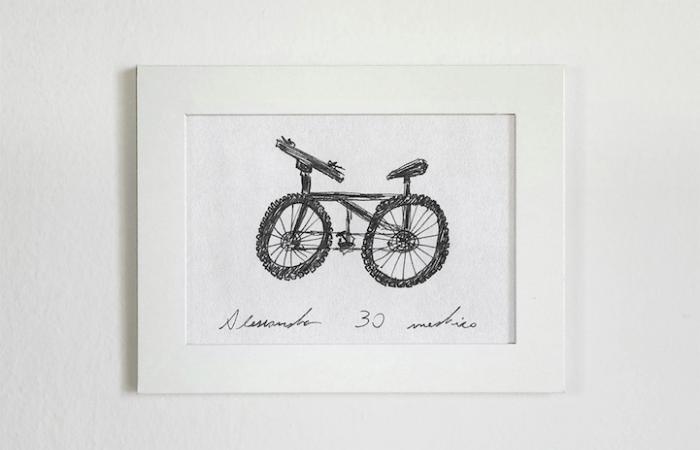 thick wheels sketch gianluca gimini velocipedia bicycles