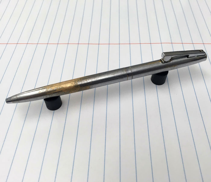 things worn down by time sheaffer pen