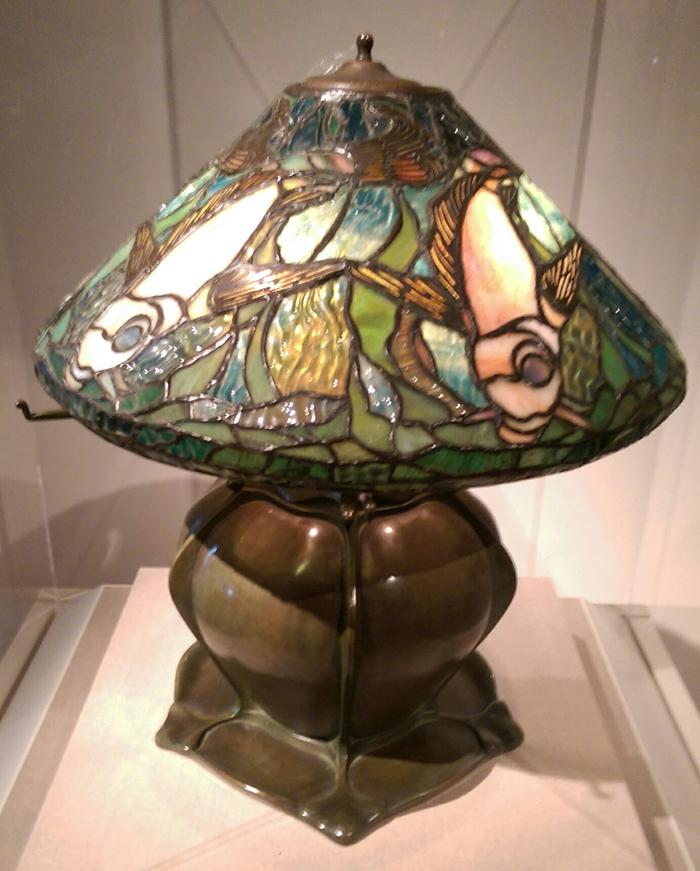 tiffany lamp de young 1905