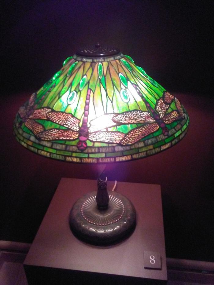 tiffany lamp dragonfly