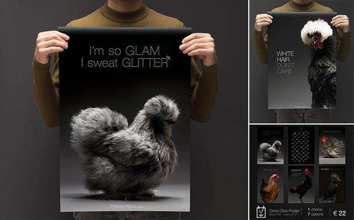 tranchellini monti chicken photobook posters