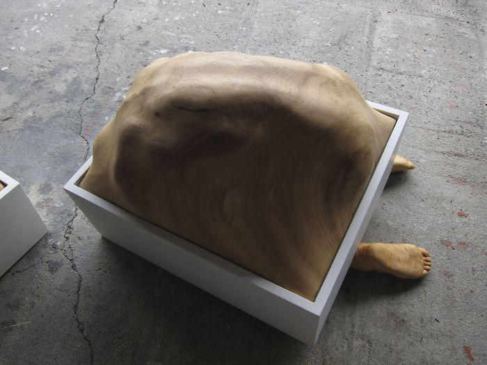 tung ming chin amazing wood sculptures breath limbs