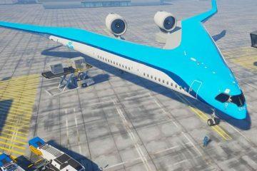 v-liner airplane