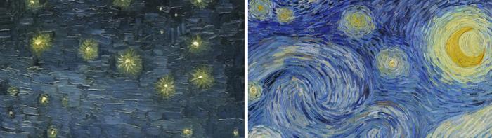 van gogh starry night paintings comparison