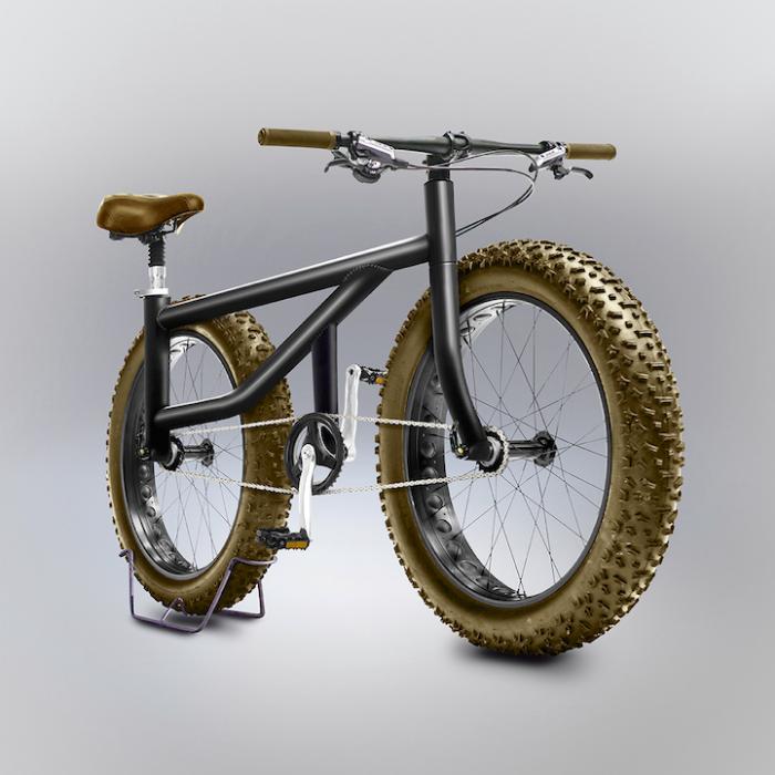 very thick wheels gianluca gimini velocipedia bicycles