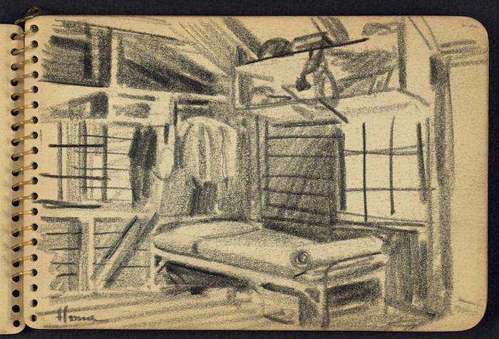 victor lundy home war sketchbooks