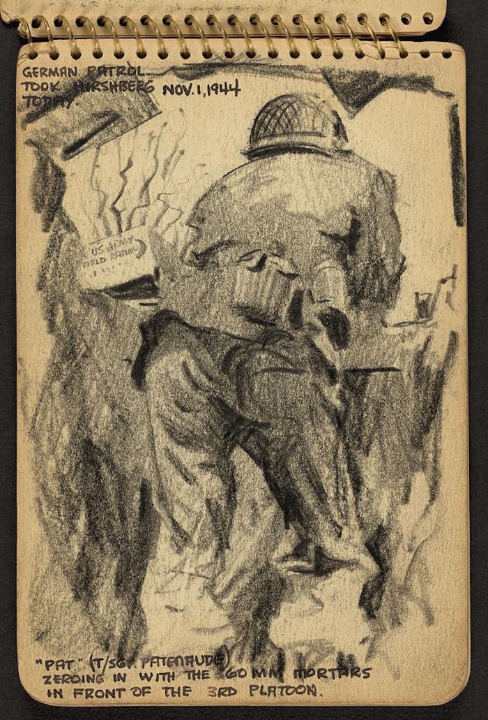 victor lundy sketchbooks pat