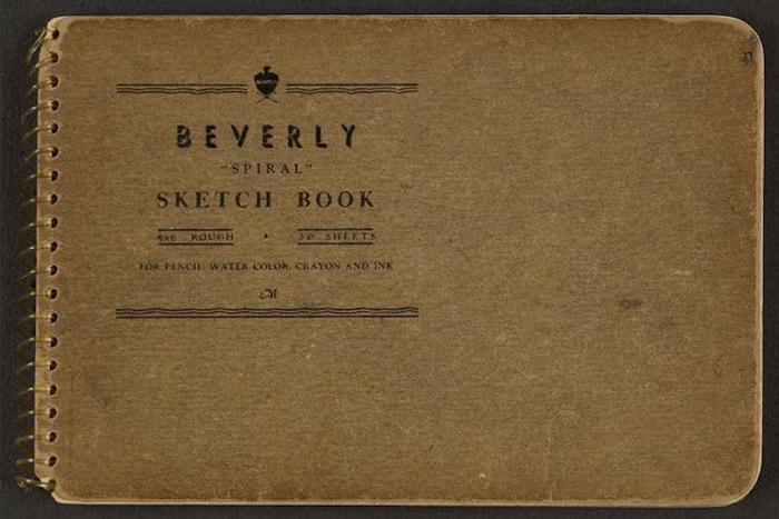 victor lundy sketchbooks world war 2
