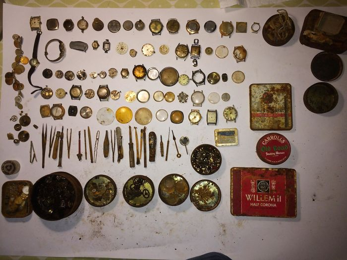 watch repair kit - interesting beach things