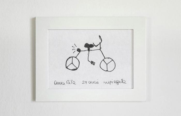 weird sketch gianluca gimini velocipedia bicycles