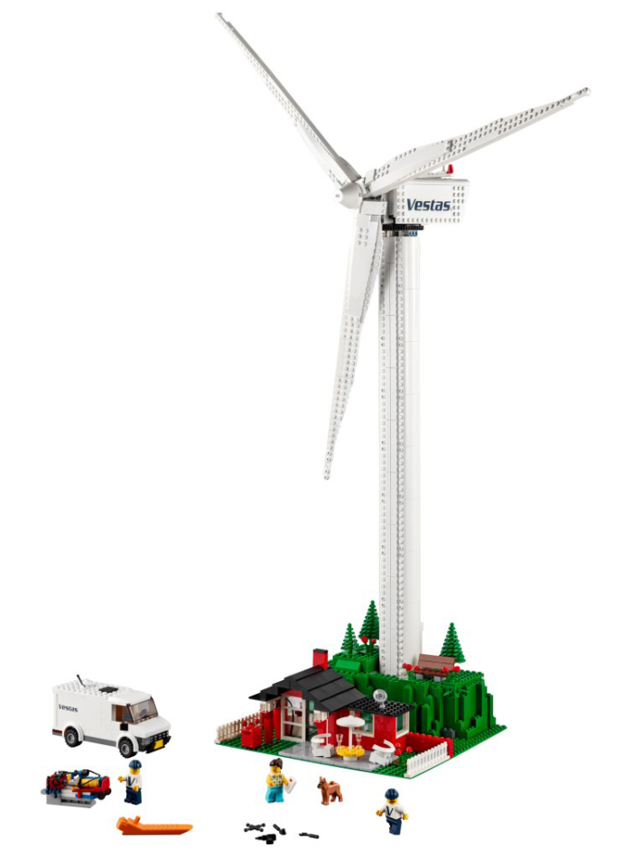wind turbine LEGO kit