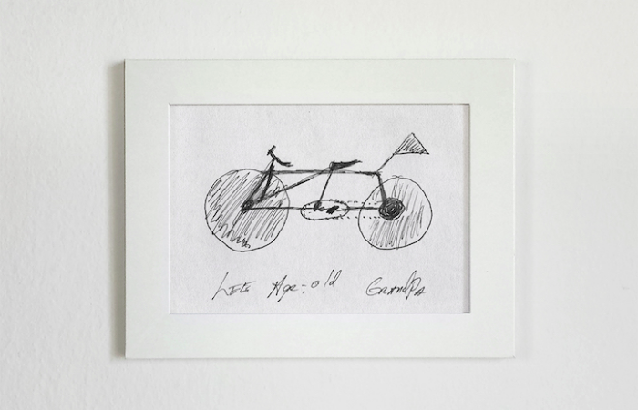 wooden sketch gianluca gimini velocipedia bicycles