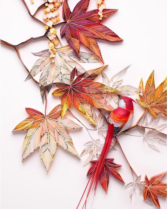 yulia brodskaya paper quilling autumn