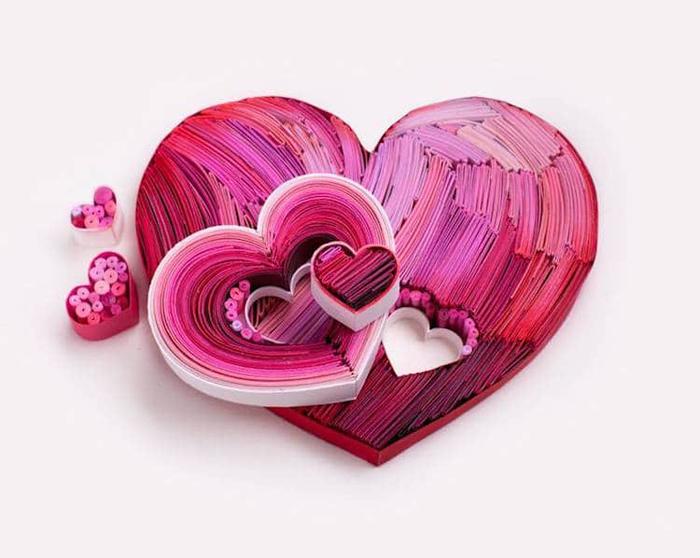 yulia brodskaya paper quilling hearts