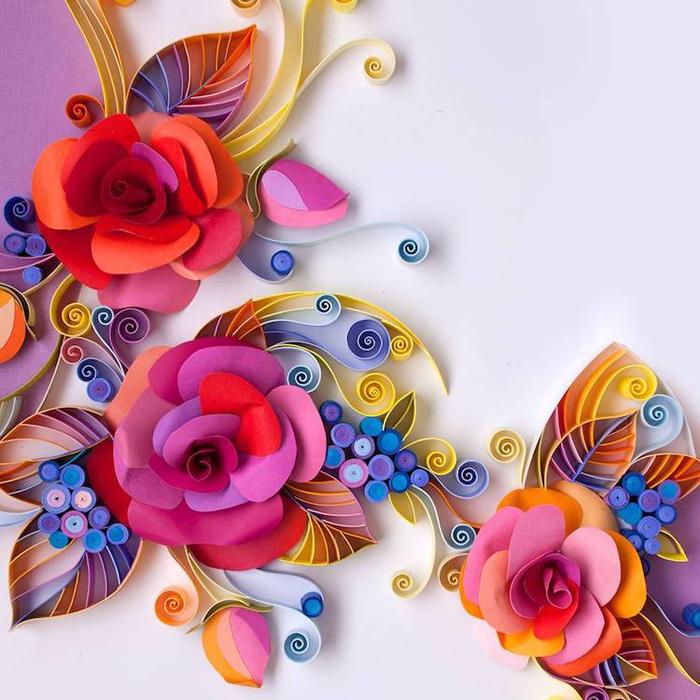 yulia brodskaya paper quilling paper roses