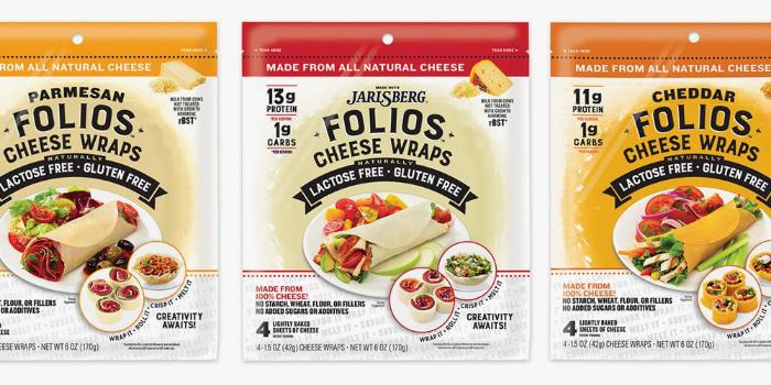 yummy lotito folios cheese wraps parmesan jarlsberg cheddar