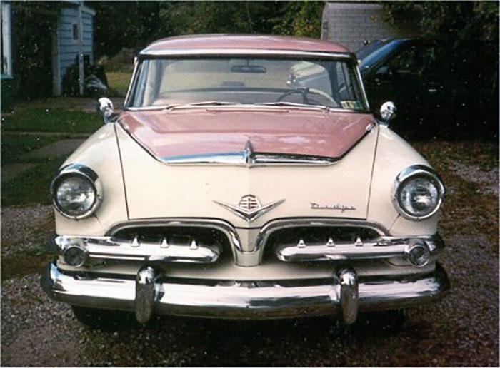 1955 dodge la femme front exterior