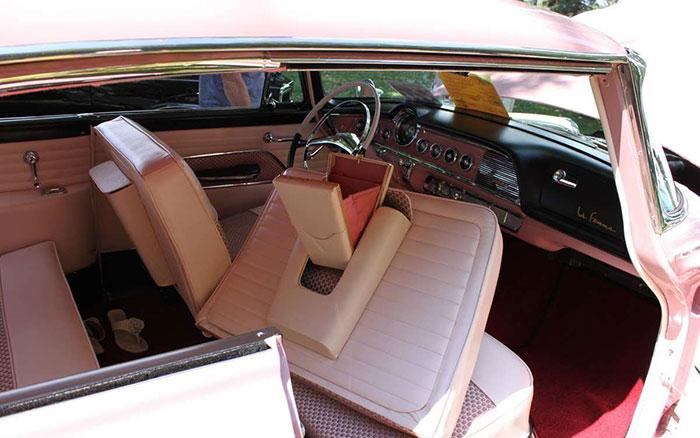1955 dodge la femme pink interior