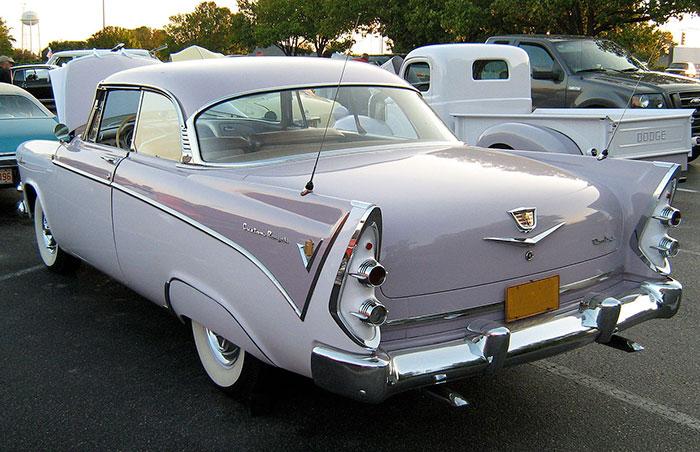 1956 dodge la femme lavender paint