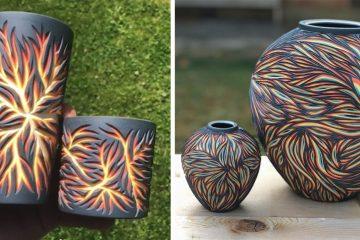 Colored Porcelain Designs