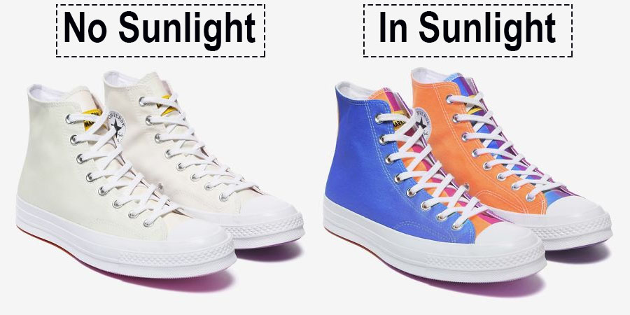 These New Converse Shoes Will Change Colour When Exposed