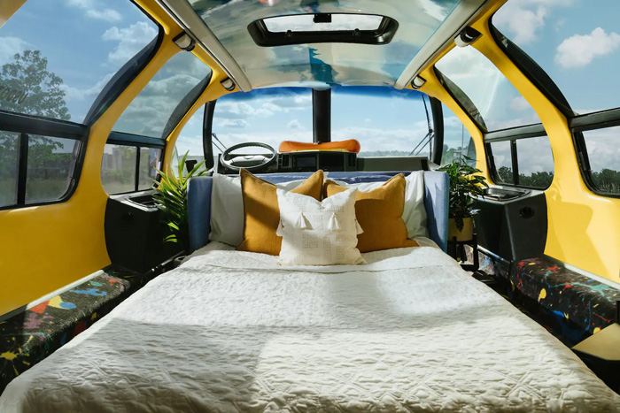 airbnb oscar mayer wienermobile bed