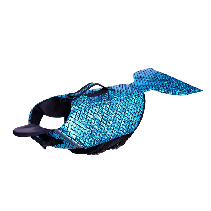 albabara sparkly life jacket dog lifesaver