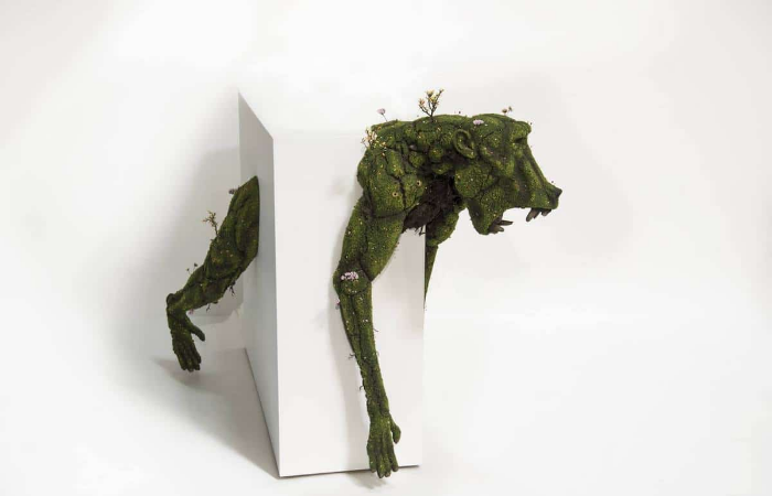 animal emeric chantier plant sculptures