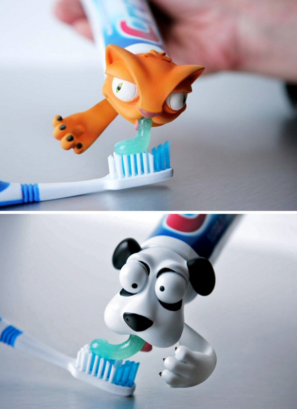 animal toothpaste cap parenting hacks tricks tips