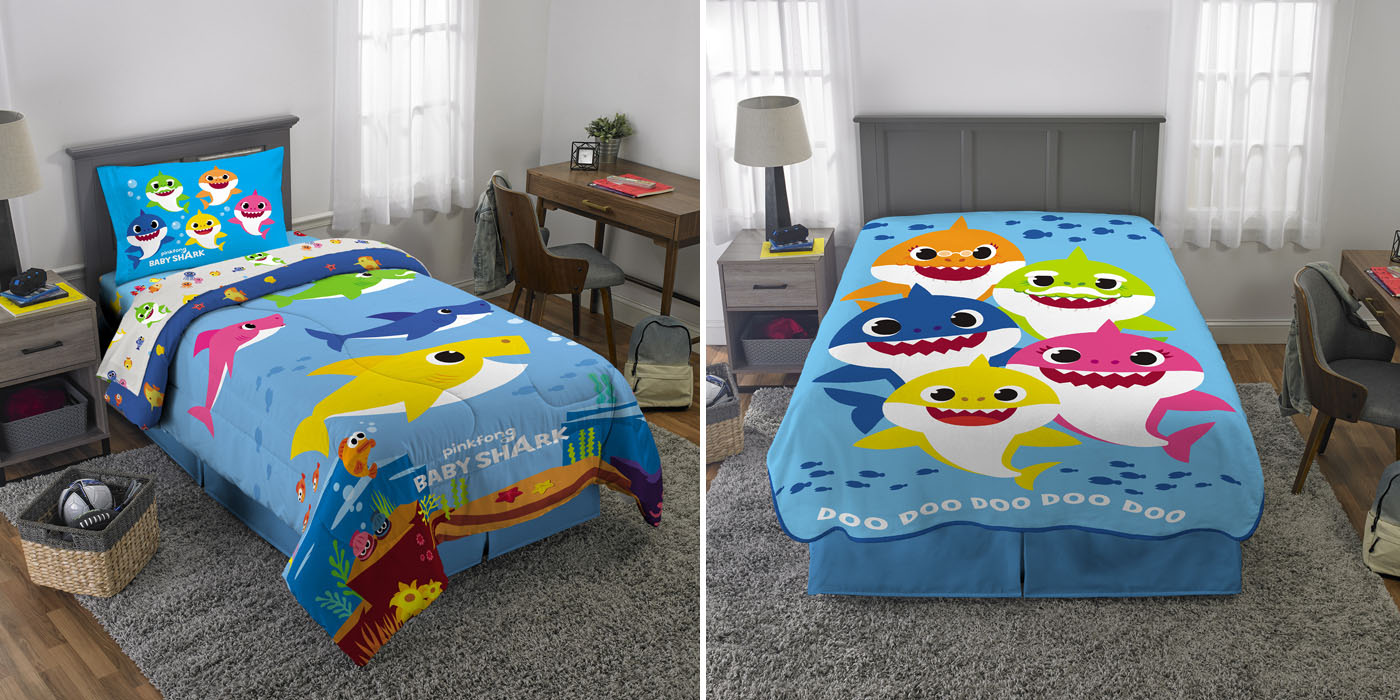 Baby Shark Lovers Will Fall In Love With The New Bedding ...